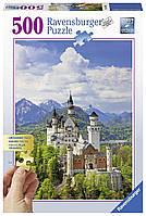 """Пазл """"Замок Нойшванштайн"""" 500 шт. Ravensburger (RSV-136810)"""
