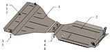 Захист двигуна, акпп, диференціала Subaru Outback 2009-, фото 5
