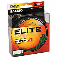 Шнур Salmo Elite Braid 0.11mm/91m Yellow
