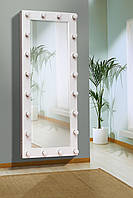 Ростовое зеркало с лампочками 1500х700 мм