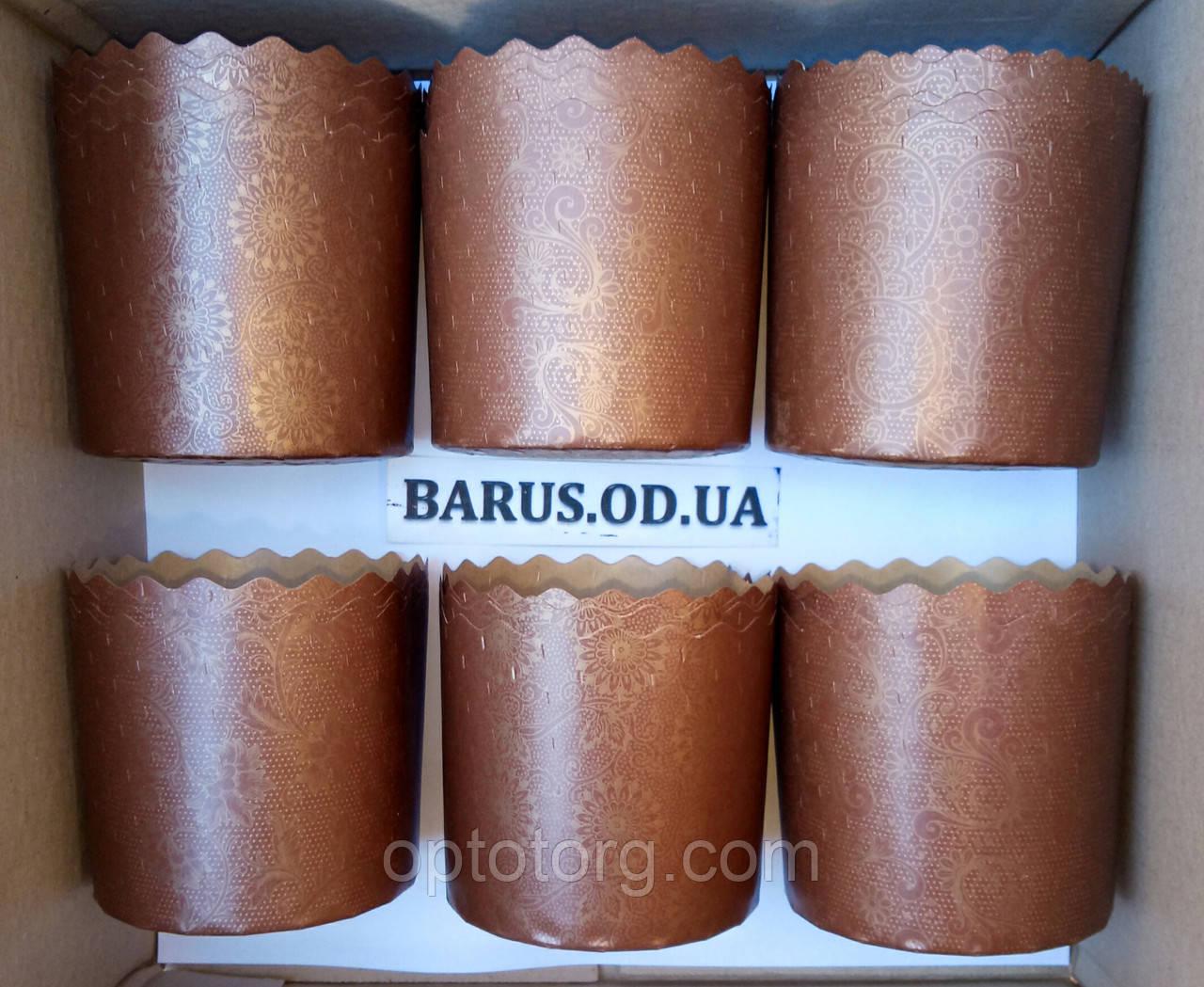 Бумажные формы для выпечки оптом 90*85 микс Италия