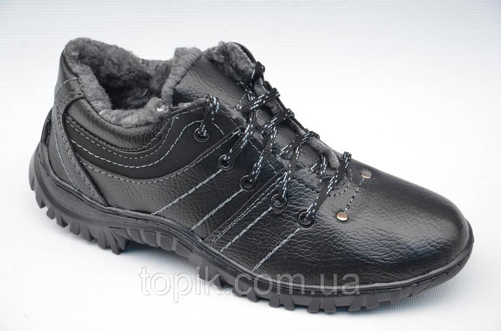d8fbe072 Зимние спортивные ботинки мужские, кроссовки, два вида, эко кожа, эко нубук  (