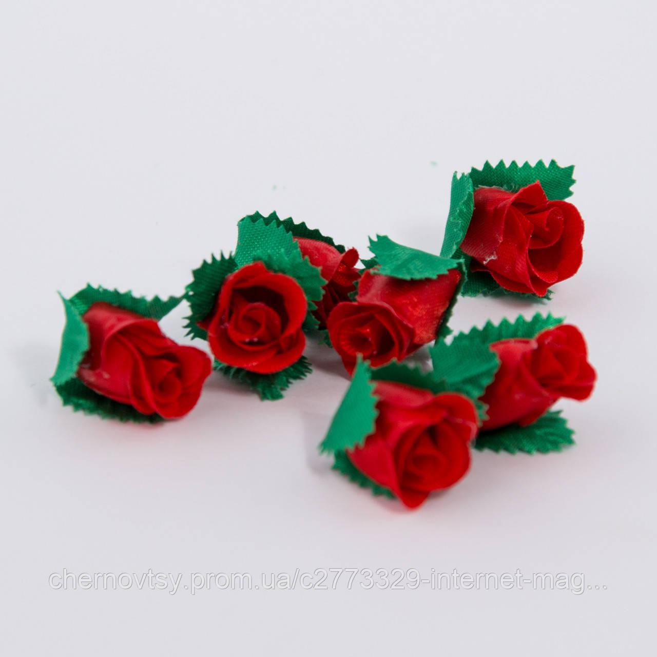 Трояндочки з атласу. Зроблено в Україні!