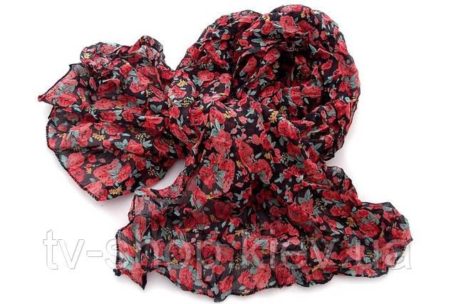 Легкий шарфик Розочки