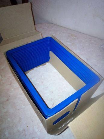 Новые информационные рамки пластиковые формата A5 синий, фото 2