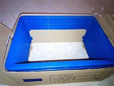 Новые информационные рамки пластиковые формата A5 синий, фото 3