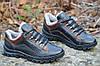 Кроссовки ботинки зимние мужские черные с коричневым популярные Львов. (Код: 261)