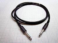 Гитарный кабель аудиошнур моно 6,3 на моно 6,3 - 1 метр