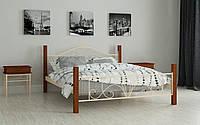 Кровать Фелисити 140х200 см Металлические полутораспальные кровати Мадера, Доставка 250грн в Украине