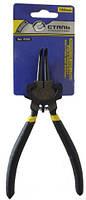 Съемник для внешних стопорных колец Сталь 180 мм (выгнутые губки, разжимание) арт. 41048