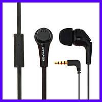 Наушники AWEI ES-Q6i black с микрофоном