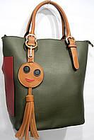 Женская сумка L6335 зеленый женские сумки недорого оптом и в розницу в Одессе