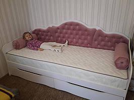"""Подростковая кровать с выдвижными ящиками """"Л-6"""" Италия 2"""