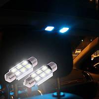 Led лампы в плафон освещения салона, подсветку номера с охлаждающие радиатором