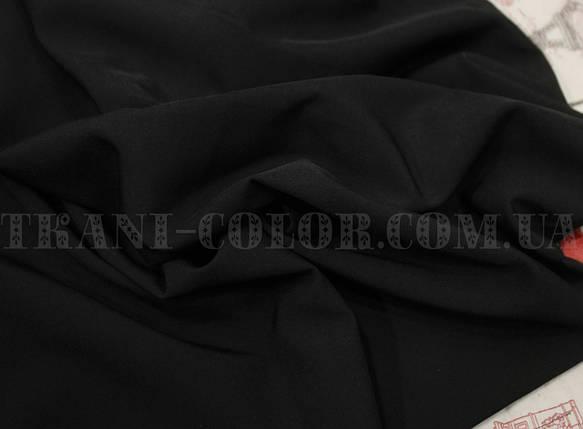 Ткань супер софт черный, фото 2