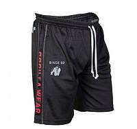 Functional Mesh Shorts Black/Red, фото 1