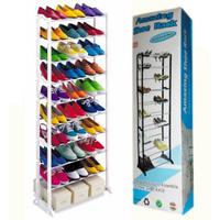Полки для обуви Amazing Shoe Rack Органайзер стойка для обуви на 30 пар обуви