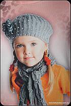 """Гольф-стойка девочка """"My Style"""" (от 3 до 6 лет)начёс, фото 2"""