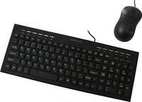 Комплект Crown CMMK-855 клавиатура+мышка, USB