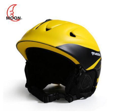 Гірськолижний / сноубордичний шолом DOTOMY MOON (Yellow + Black)