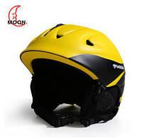 Гірськолижний / сноубордичний шолом DOTOMY MOON (Yellow + Black), фото 1