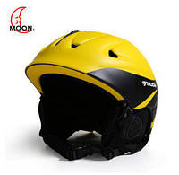 Горнолыжный / сноубордический шлем DOTOMY MOON (Yellow + Black)
