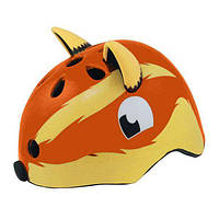 Детский шлем HQBC FOXY с хвостом, коричневый, размер 50-54см