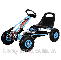 Карт педальный железный детский педальная машинка PROFI M 0645-12