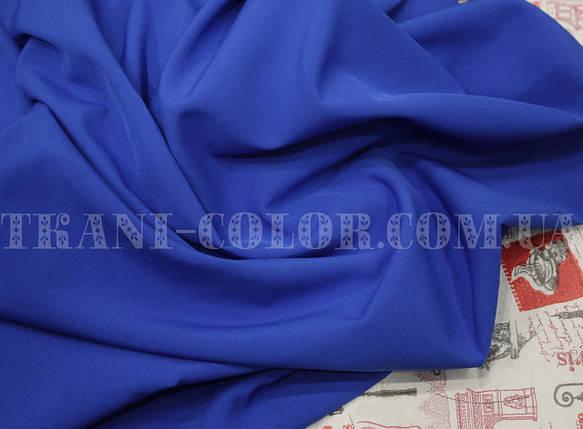 Ткань супер софт синий электрик, фото 2