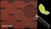 Битумная черепица RUFLEX МINT Sota- Красный, Red
