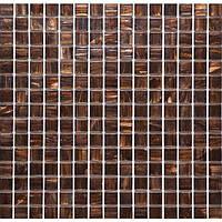 Мозаика с авантюрином коричневая Vivacer G13R