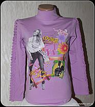 """Гольф-стойка девочка """"Девочка в джинсах""""(рост от 116 до 152 см)начёс, фото 3"""