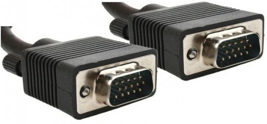 Кабель VGA - 1.5м CC-PPVGA HD15M/HD15M Black (тонкий)