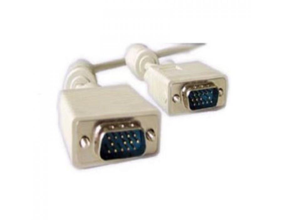 Кабель VGA - 25.0м CC-PPVGA HD15M/HD15M с 2-мя ферритовыми кольцами