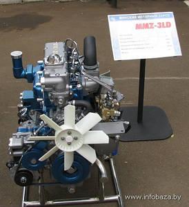 Двигатель МТЗ-320 (MMZ-3LD-20) (пр-во ММЗ)