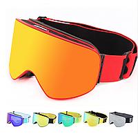 Горнолыжные / сноубордические очки (маска) BE NICE SNOW-5100 UV400 anti-fog двойная линза