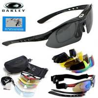 Солнечные Очки «Oakley Polarized» с 5 сменными линзами и защитой UV400