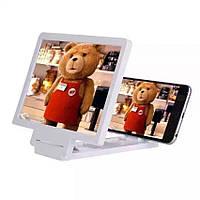 Увеличительный экран для телефона Enlarge screen F1, стекло с эффектом 3d для смартфона