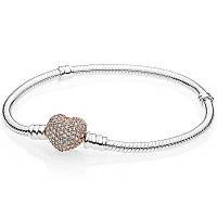 Серебряный браслет Moments в стиле Pandora Rose