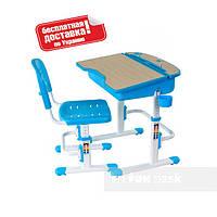 Комплект парта и стул-трансформеры ТМ FunDesk Capri Blue