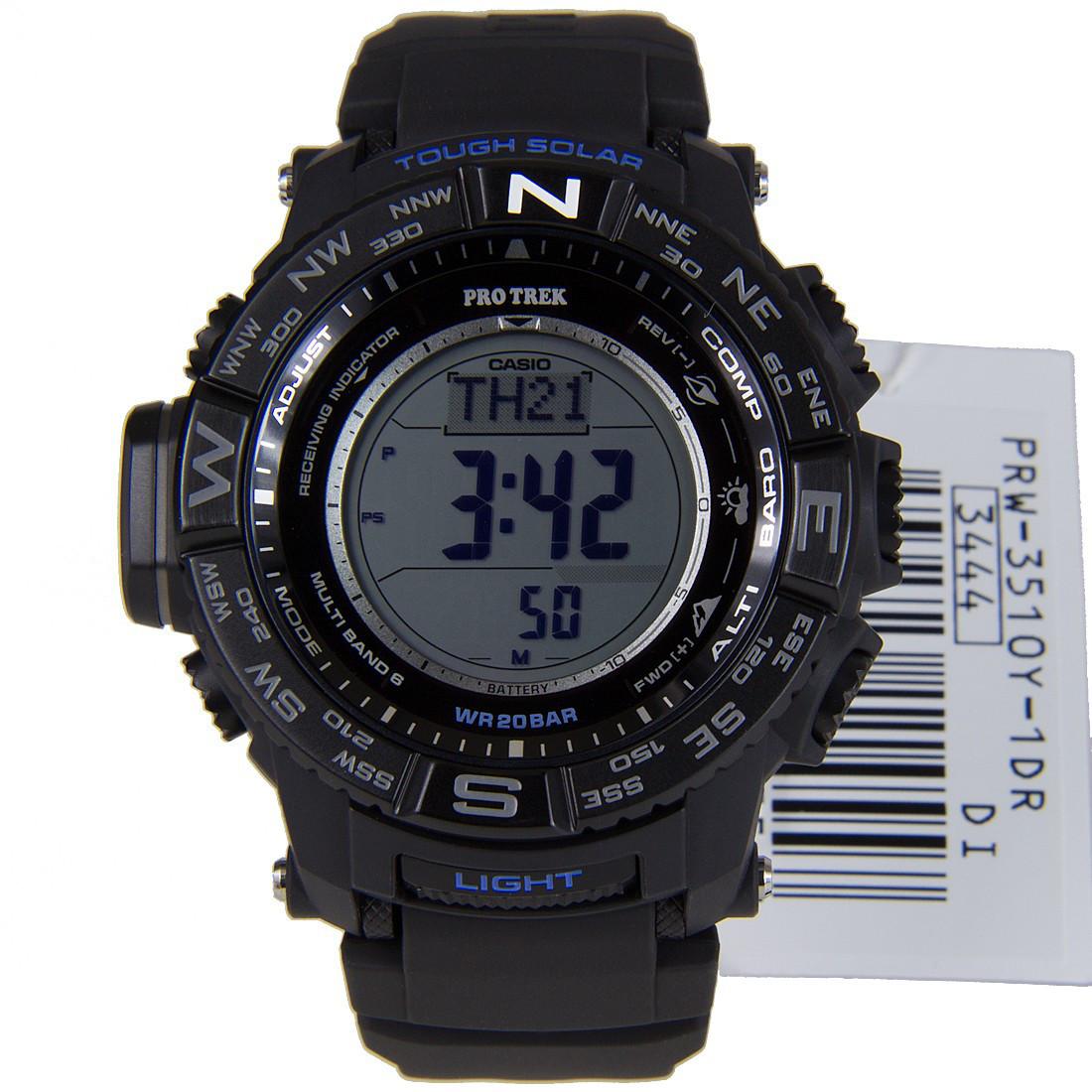 Часы Casio Pro-Trek PRW-3510Y-1ER В.