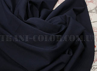 Ткань супер софт темно-синий