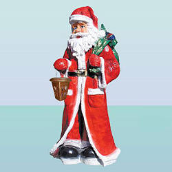 Новогодняя садовая фигура Дед Мороз (Б)