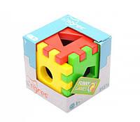 Игрушка развивающая Волшебный куб 39376 (12 элементов)