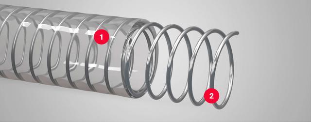 шланг армированный прозрачный transmetal