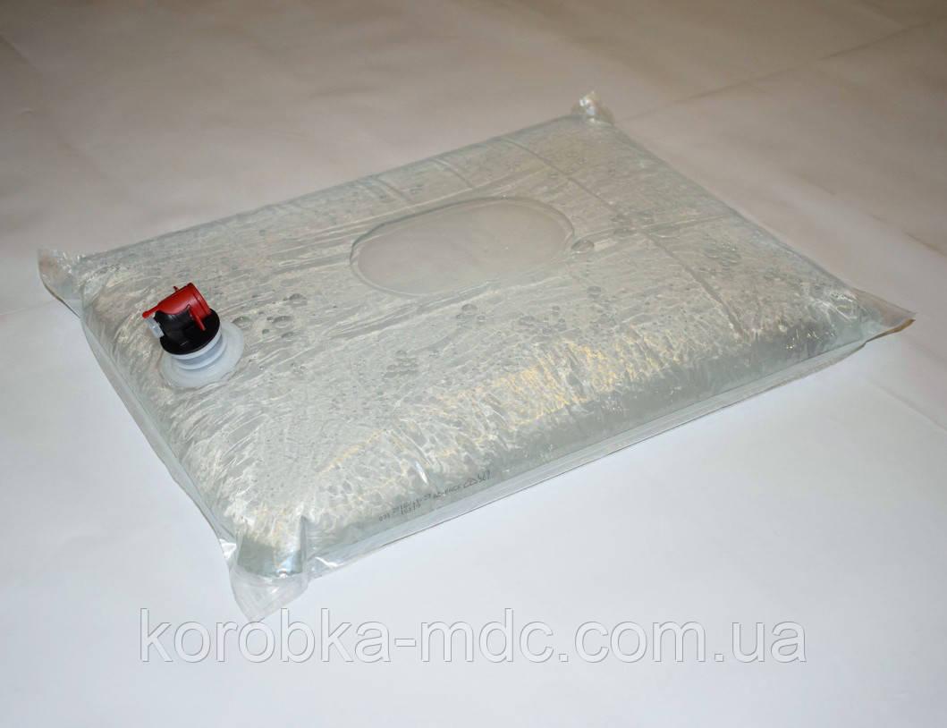 Пакет 5 л прозрач бок кран БК