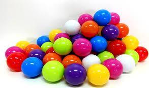 Пластмассовые шарики для сухих бассейнов