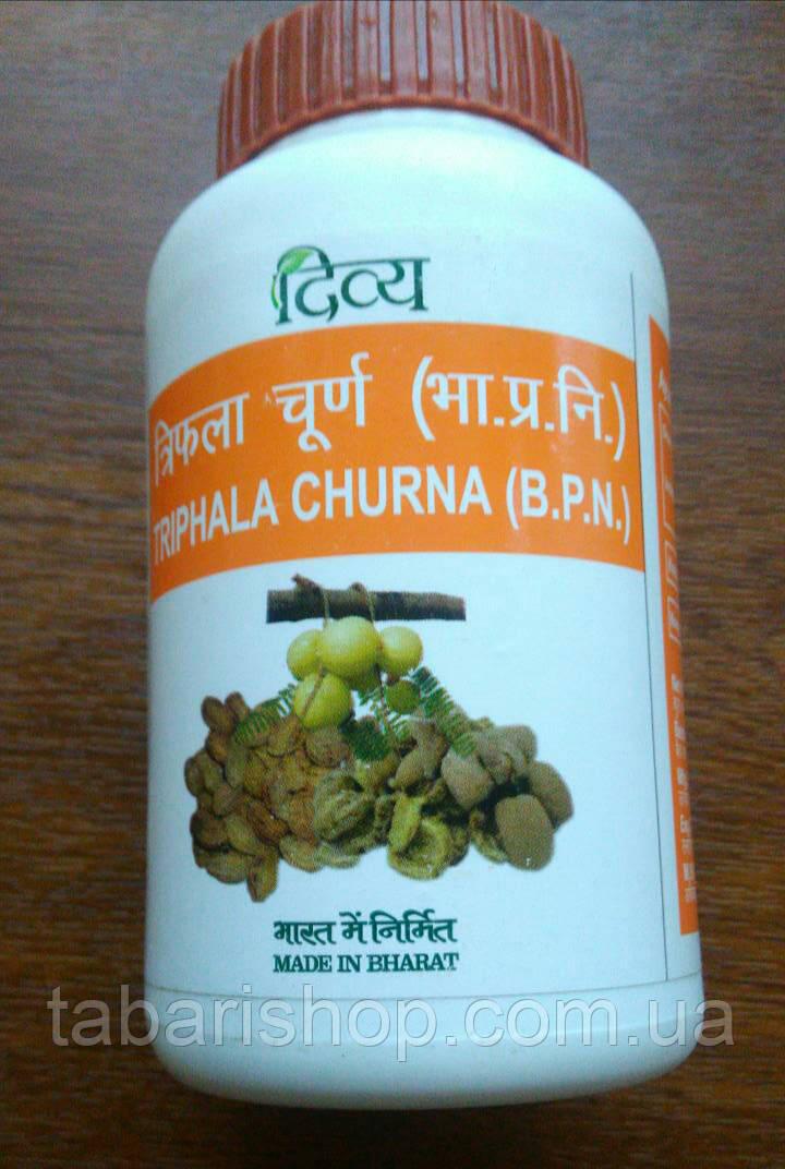 Трифала чурна, трифала порошок,Triphala Churna Patanjali, 100 гр