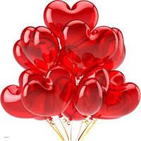Сердца с гелием, фото 1