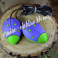 Сушилка для обуви Солнышко фиолетовая с зелеными точками